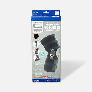 Neo G Adjusta Fit Hinged Open Knee Brace, One Size