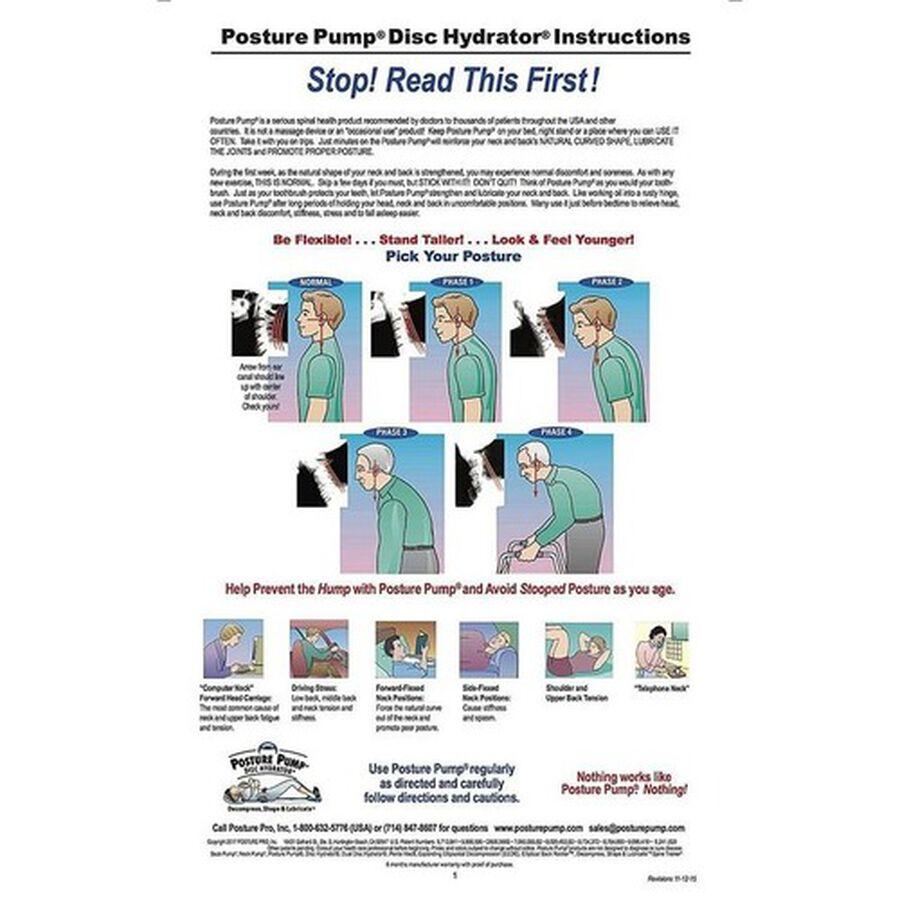 Posture Pump® Neck Pump® Single Neck Air Cell, Model 1100-S, , large image number 7