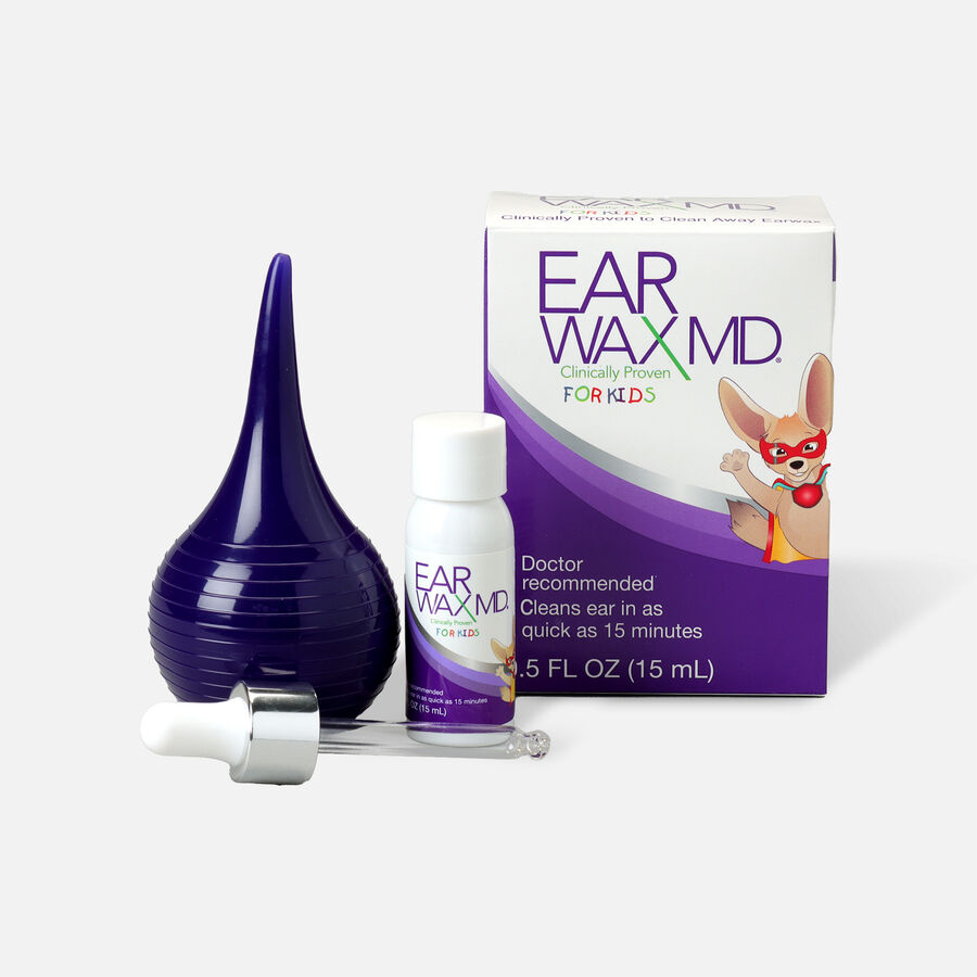 Earwax MD for Kids, Ear Wax Removal Kit and Ear Cleaning Tool, , large image number 2