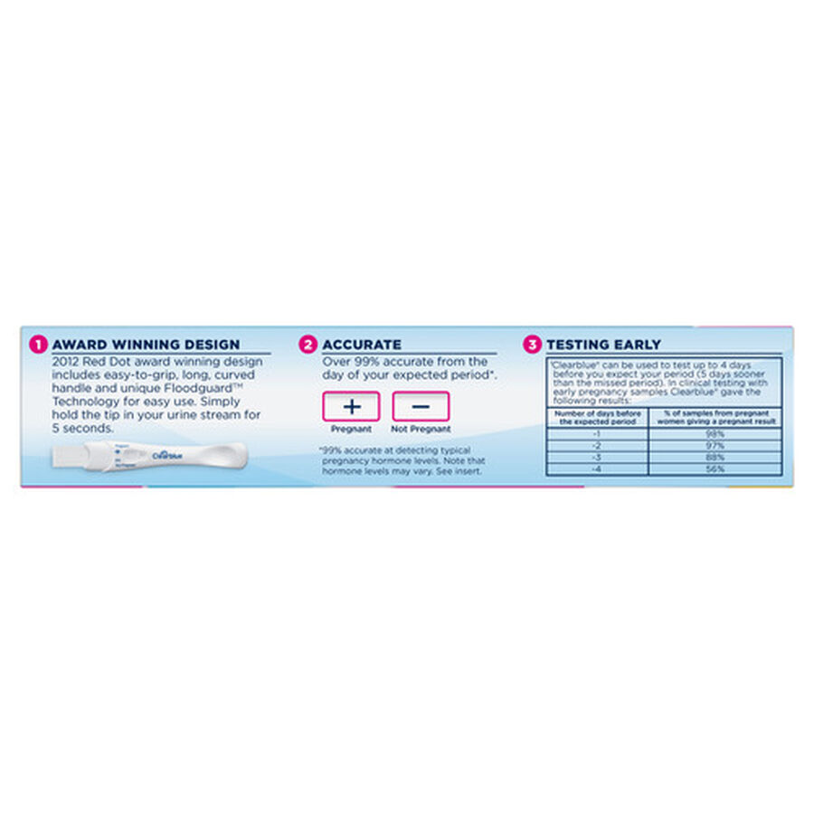 Clearblue Rapid Detection Pregnancy Test - 2ct, , large image number 6