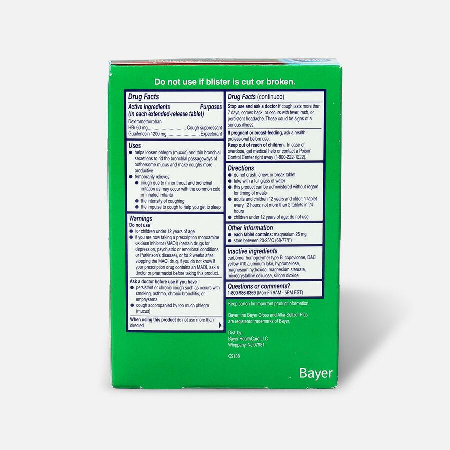 Alka-Seltzer Plus Maximum Strength Cough & Mucus, 14ct, , large image number 1