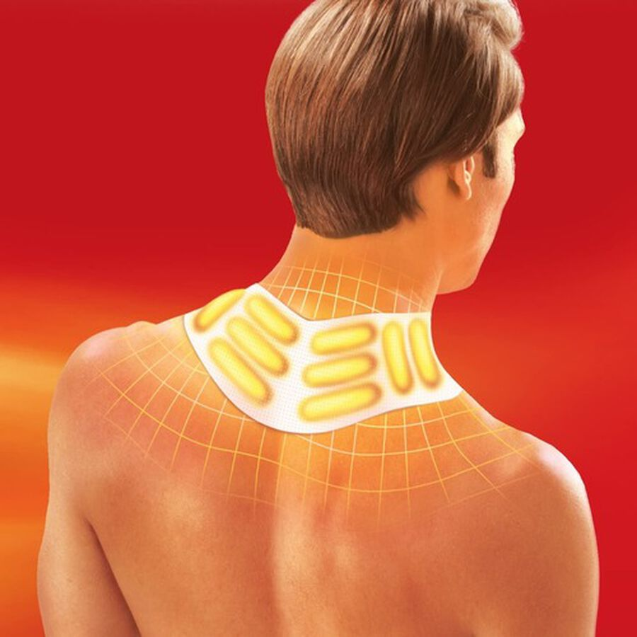 Thermacare Heat Wrap Neck, Shoulder and Wrist, 8HR, 3 ct, , large image number 2