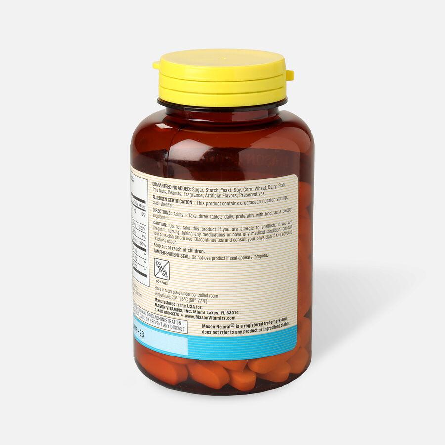 Mason Vitamins Natural Glucosamine Chondroitin 1500/1200 Plus MSM 1000, 90 Tablets, , large image number 2