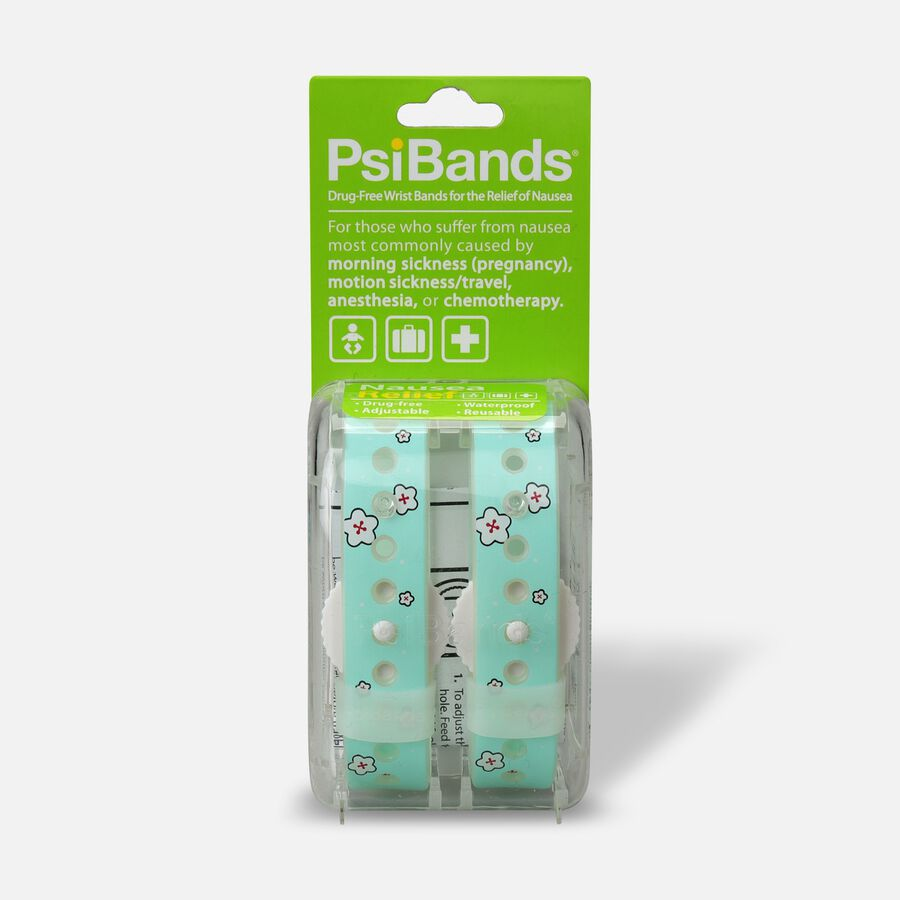 Psi Bands Nausea Relief Wrist Bands - Cherry Blossom, Cherry Blossom, large image number 0