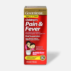 GoodSense® Child Pain Relief 160 mg Liquid, 4 fl oz