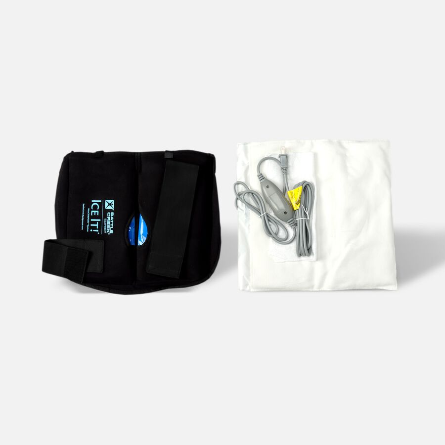 Battle Creek Back Pain Kit 2.0 with Electric Moist Heat and Cold Therapy, , large image number 1