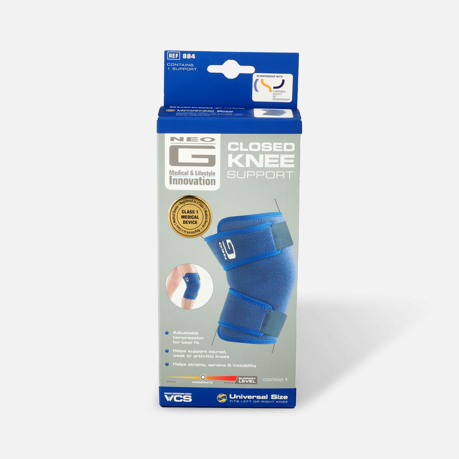 Neo G Closed Knee Support, One Size, , large image number 0