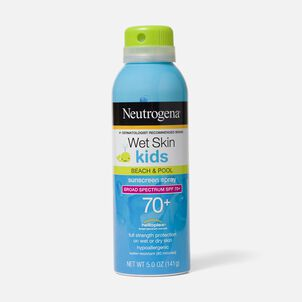 Neutrogena Wet Skin Kids Sunscreen Spray, SPF 70, 5 oz