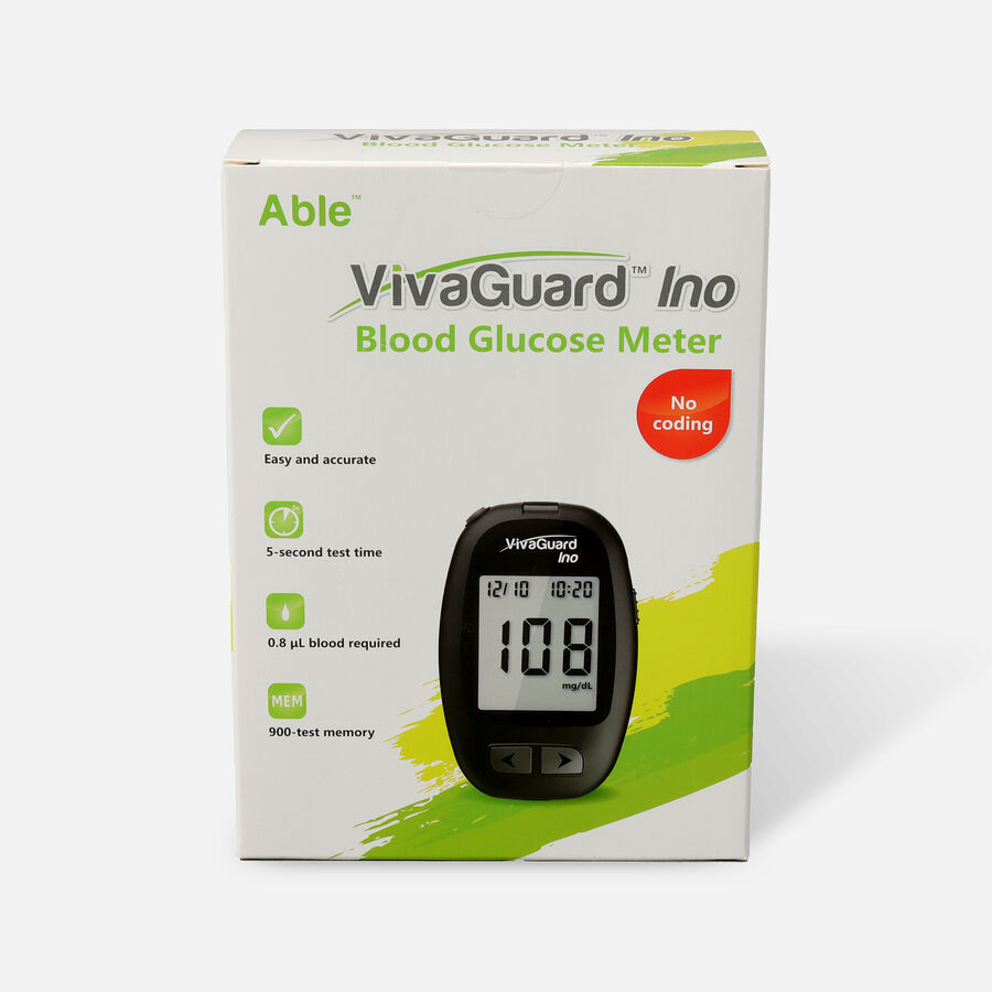 VivaGuard Ino Blood Glucose Meter, Black, , large image number 0