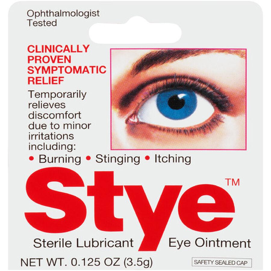 Stye Eye Lubricant Ointment, .125 oz, , large image number 0