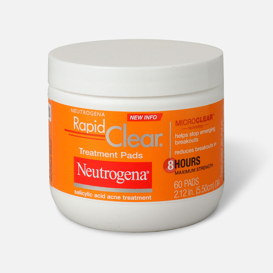 Neutrogena Rapid Clear Treatment Pads - 60ct., , large image number 0