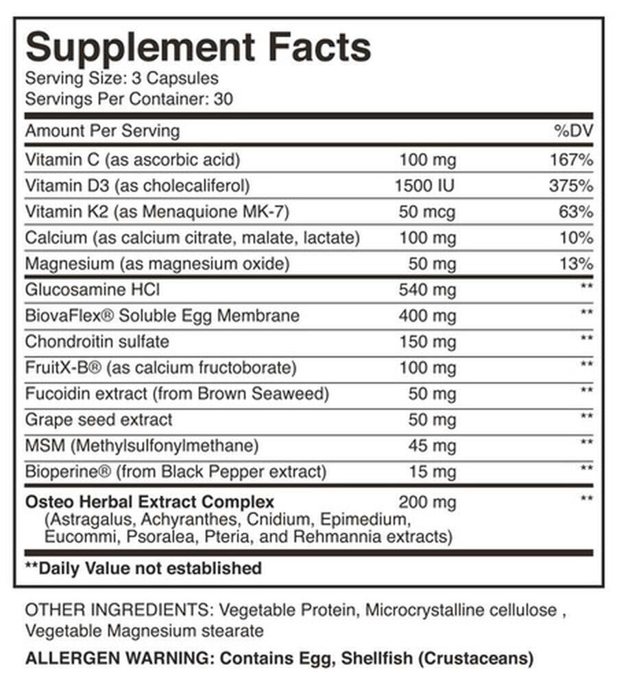 Blackfish Motion Joint Supplement, Capsules, 90 ct, , large image number 3