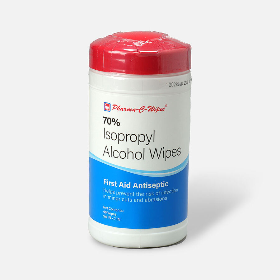 Pharma-C-Wipes™ 70% Isopropyl Alcohol First Aid Wipe, , large image number 0