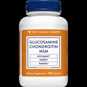 Vitamin Shoppe Glucosamine Chondroitin With MSM, Capsules
