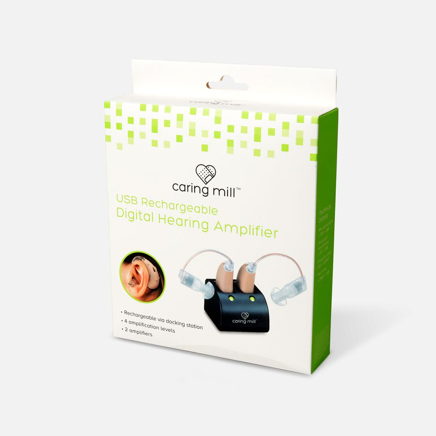 Caring Mill™ USB Rechargeable Digital Hearing Amplifier, , large image number 3