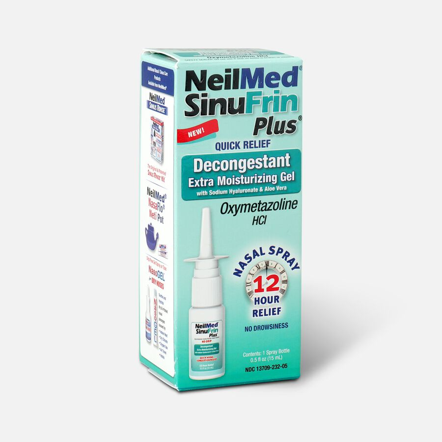 NeilMed SinuFrin Plus™ Decongestant Spray and Moisturizing Gel, , large image number 2
