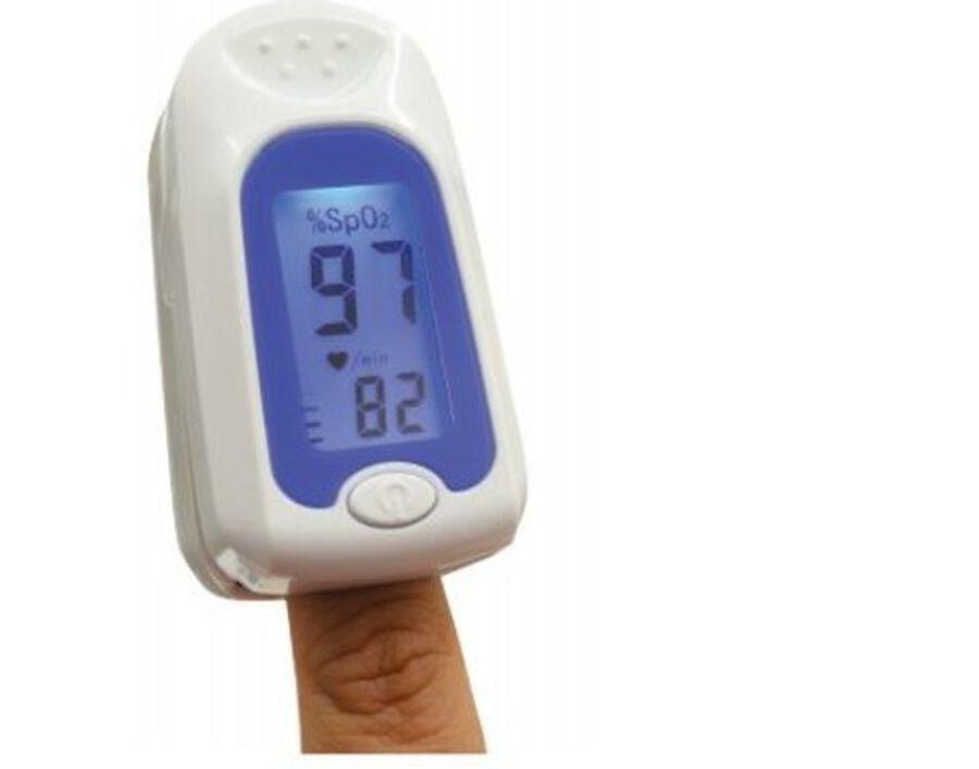 Jobar Fingertip Pulse Oxygen Meter, , large image number 1