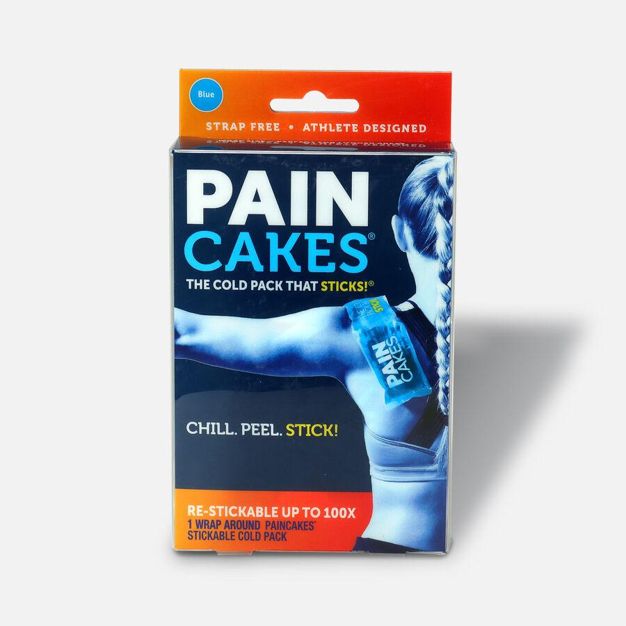 "PainCakes Wrap Stickable Cold Pack, Blue, 10"", , large image number 1"