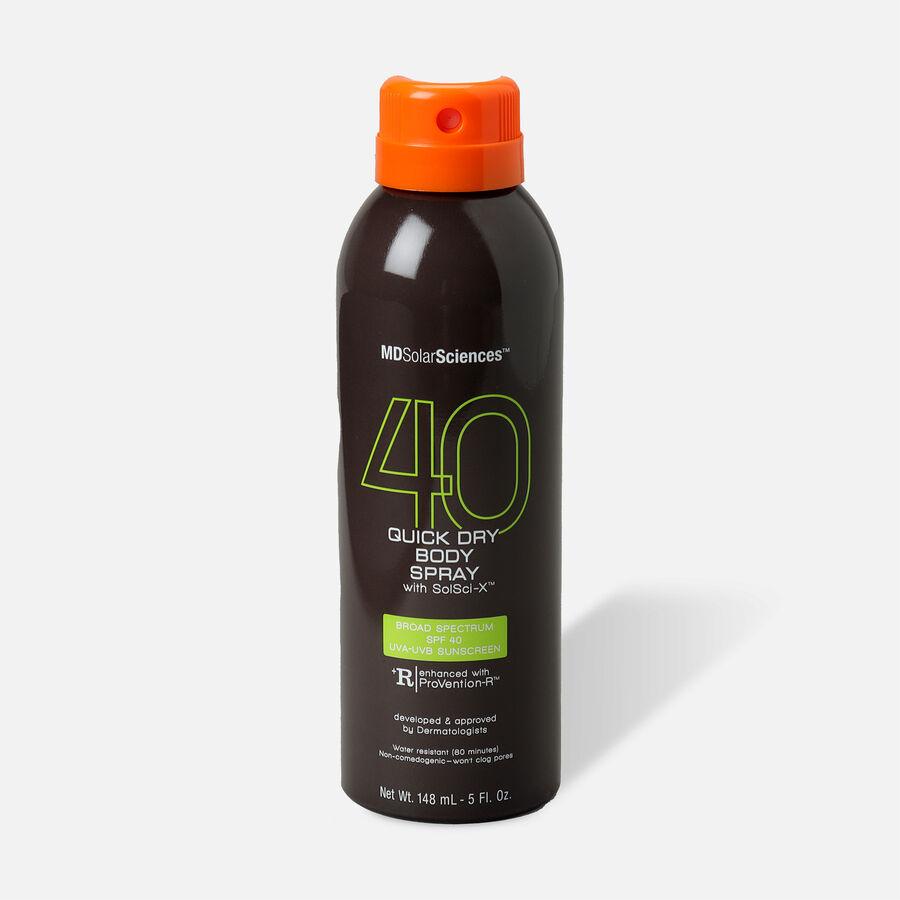 MDSolarSciences Quick Dry Body Spray SPF 40, 5oz, , large image number 0