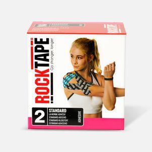 "RockTape Kinesiology Tape, 2"" x 16.4' Roll, Medical, Pink"