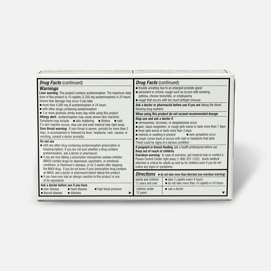 GoodSense® Pressure + Pain PE + Cold Relief Caplets, Non-Drowsy, 24 ct, , large image number 1
