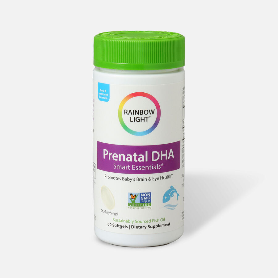 Rainbow Light Prenatal DHA Smart Essentials™ 60 Softgels, , large image number 0