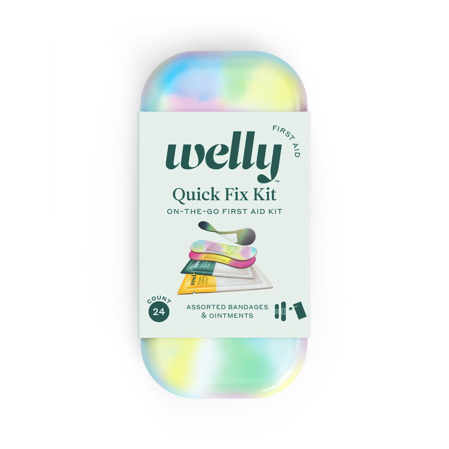 Welly Colorwash Quick Fix Kit First Aid Travel Kit - 24ct, , large image number 0
