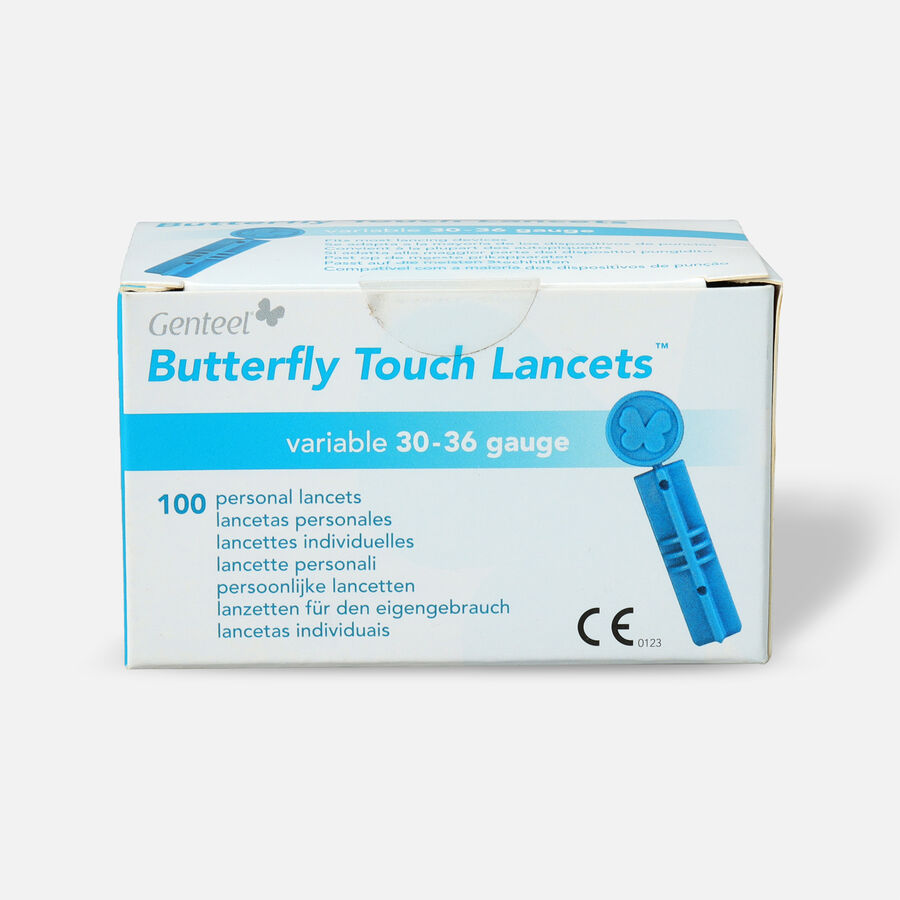 Butterfly Touch Lancets (100 count), , large image number 0