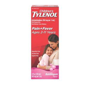 Children's Tylenol Bubblegum Flavor, 4 fl oz